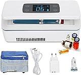LFFRJL Refrigerador De Insulina para Automóvil,Estuche De Viaje para Enfriador De Insulina 2~8 ℃ Vial De Insulina Refrigerador Portátil para Medicamentos con Cargador De Automóvil Bolso De Hombro