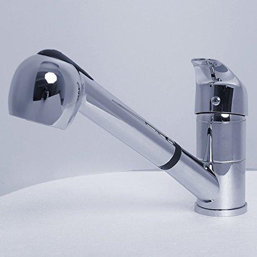 Generic O-1-o-3623-o ID soutiens-gorge Eau évier Iller S Robinet mitigeur El-ater SI moderne pour mitigeur de lavabo Laiton massif Facuet Pull _ ou Pull _ OUT Spray NV _ 1001003623-nhuk17 _ 1084