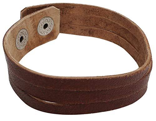 Gusti Leder nature 'Fabio braccialetto di pelle di capra elegante alla moda trand A125b
