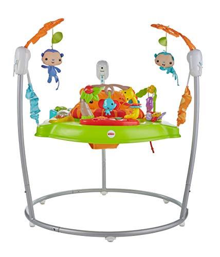 Fisher-Price Centro Attività Amici della Foresta, con Musica e Luci, Giocattolo per Bambini 6+Mesi, CHM91