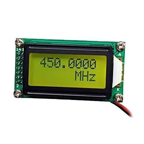 Gazechimp Contador de Frecuencia Señal Digital Automático Electrónica para Radioaficionado PLJ-0802-C 1mhz-1200mhz