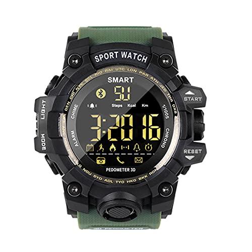 Nuevo MK28 Smart Watch Waterproof Fitness Tracker Pedómetro Recordatorio Bluetooth Smart Watch 12 Meses Standby iOS Android,E
