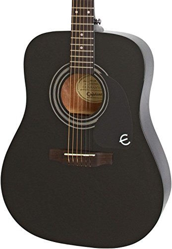Epiphone Pro-1 Acoustic Guitar system for Beginners,  Gloss Natural Finish