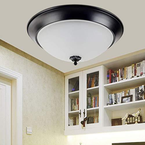 Modern elegant design plafondlamp creatieve donkergroene doek lampenkap 3 vlammen ronde kunst plafondlamp woonkamer eetkamer slaapkamer landhuisstijl plafondverlichting E27 Max 60W 50cm
