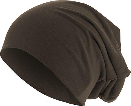 MSTRDS Jersey Beanie Bonnets en Mailles, Braun (Chocolate 3421), Taille Unique Femme