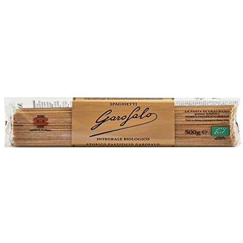 Garofalo - 5-9 SPAGHETTI INTEGRALI - Pasta Integrale - Biologica - Cartone da 24 pacchetti da 500g