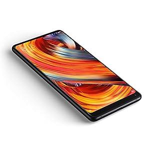 "Xiaomi Mi Mix 2 - Smartphone libre de 5.99"" (4G, WiFi, Bluetooth 5.0, NFC, 835 2.45 GHz, memoria interna de 64 GB, RAM de 6 GB, cámara de 12 MP, Android MIUI, Dual SIM, versión española) negro"