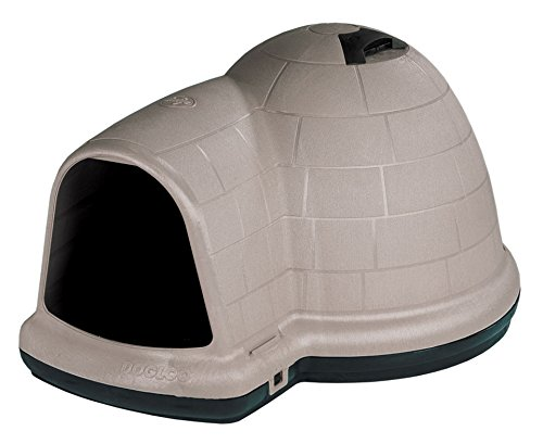 Petmate Indigo Dog House All-Weather Protection Taupe/Black 3 sizes Available