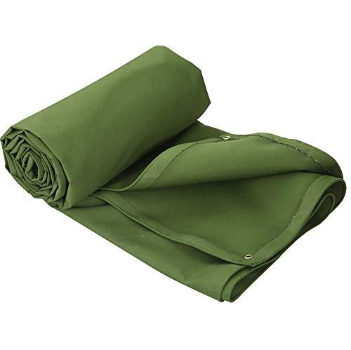 LXLIGHTS Bache Impermeable Auvent, Bâche Camion Linoléum Toile De Protection Extérieure Imperméable/Neigeuse/Solaire, Polyester Epaisseur 0.9MM 600g \ M2 (Couleur : Green, Taille : 200 * 150cm)