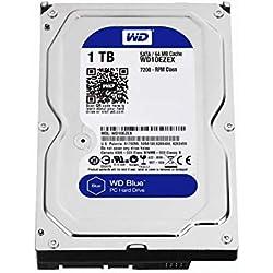 Wester Digital WD10EZEX HDD Interno da 1 TB, Connettività: SATA, Dimensioni: 3.5´´, Argento