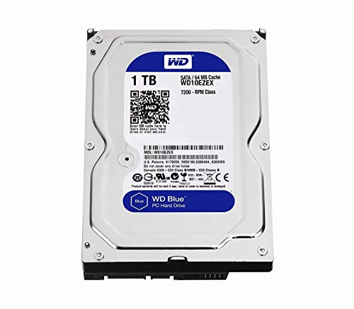 Western Digital WD10EZEX - Disco duro, Caviar Blue 1000 GB interna