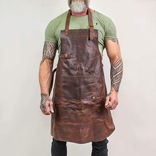 Legend Forge Leather Work Apron