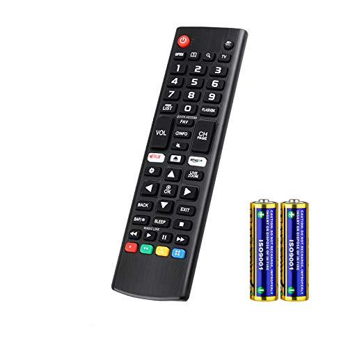 Universal Fernbedienung für LG Smart TV LCD LED 3D HDTV AKB75095308 AKB75095307 AKB73715601 Kompatibel Allen für LG Fernbedienung