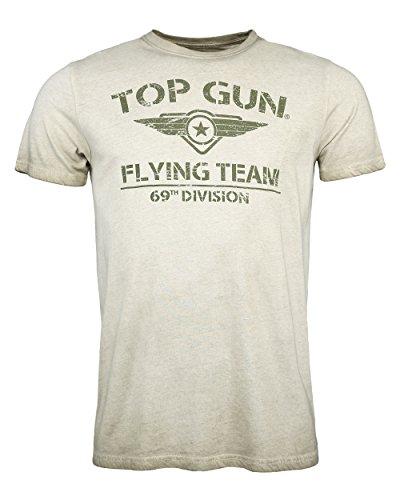 Top Gun Herren T-Shirt Logo Ease Olive,m