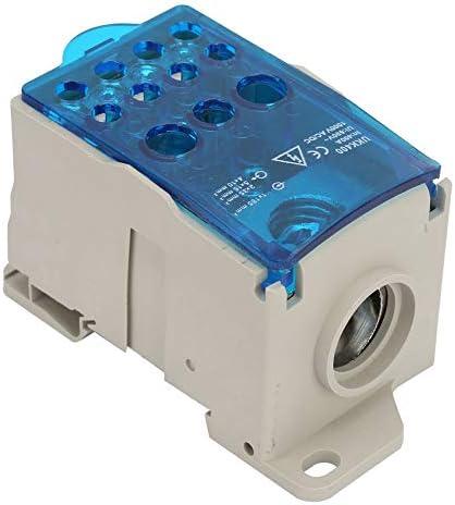Transparante DINrailverdelerkast duurzame hoge temperatuur en corrosiebestendigheid voor stroomverdelerkast railaansluitblokken van koper