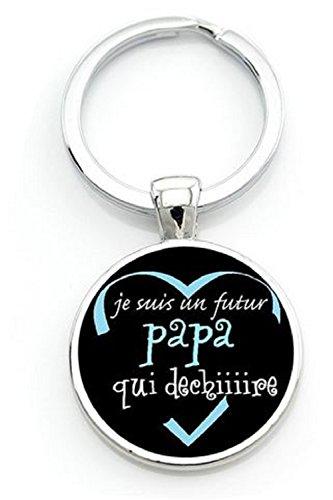WAY2BB - Porte-clés Je suis Un Futur Papa Qui déchiiiiiiire (2)