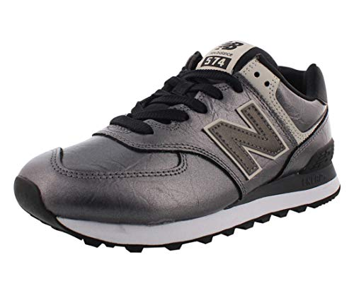 New Balance 574v2, Zapatillas Mujer, Negro (Black Black), 40 EU