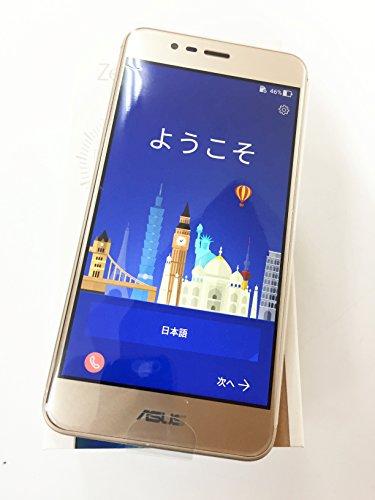エイスース ZenFone 3 Max ゴールド ZC520TL-GD16