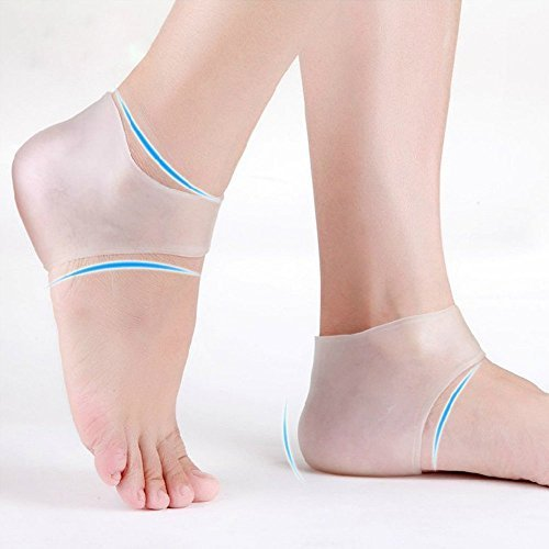 Plantar Fasciitis Silicone Heel Sock, Moisturizing Compression Sleeve Cushion; Pedidoc™ Best Foot...