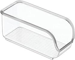 InterDesign Linus cajoneras de plástico para azucarillos | Ideal para utensilios de cocina y sobres de azúcar |...