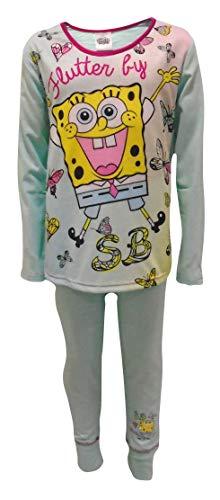 Spongebob Squarepants Flutter Mädchen Schlafanzug 7-8 Jahre