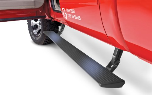 AMP Research 75104-01A PowerStep Electric Running Boards for 1999-2001 & 2004-2007 Ford F-250/F-350/F-450 (All Cabs),Black