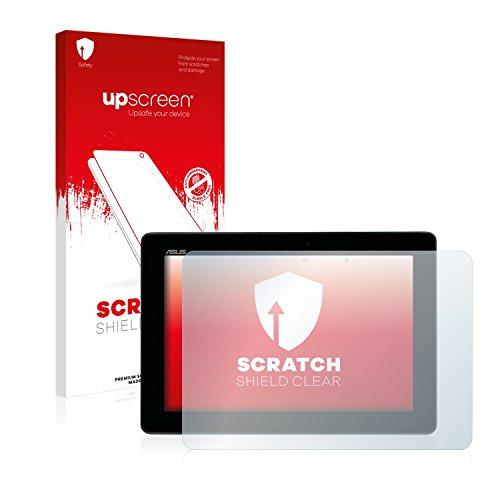 upscreen Schutzfolie kompatibel mit Asus MeMo Pad Full HD10 ME302KL 2014 – Kristallklar, Kratzschutz, Anti-Fingerprint