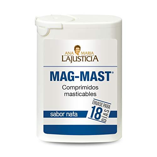 Ana Maria Lajusticia - Magnesio masticable – 36 comprimidos. Reduce la acidez estomacal de forma natural. Apto para veganos. Envase para 18 días de tratamiento
