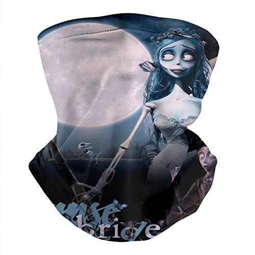 Warm Seamless Adult Balaclava Bandana Face Mask Corpse-Bride- Magic Neck Gaiter Scarf