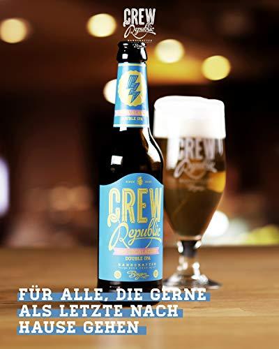 CREW Republic® Craft Bier 7:45 Escalation, Double India Pale Ale | World Beer Awards Gewinner Imperial IPA 2020 | Bierspezialität aus Bayern nach deutschem Reinheitsgebot (20 x 0,33l) - 5