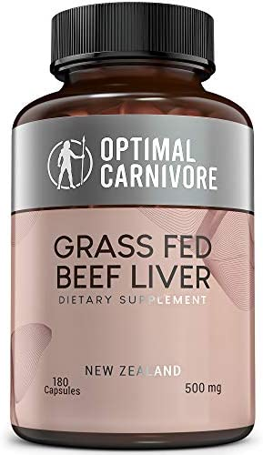 Grass Fed Beef Liver Capsules Desiccated Beef Liver Supplement Ancestral Superfood from New product image