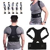 Mammoth Fully Adjustable Hunchbacked Posture Corrector Back Magnets Support Brace Shoulder Band Belt