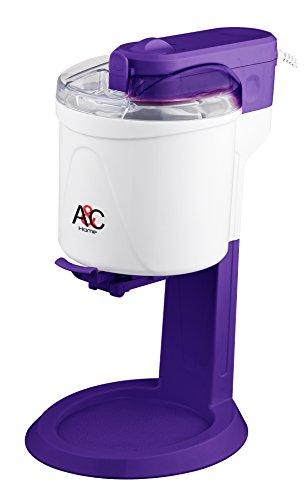 A&C Home - Gelatiera all'italiana, in plastica, 1 litro, 15 W