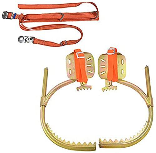 qwert Herramientas para Trepar Árboles, Zapatos Antideslizantes Climbing Cat Catws Cinturón De Seguridad para La Observación De La Caza Elija Nueces De Pino,250 Model