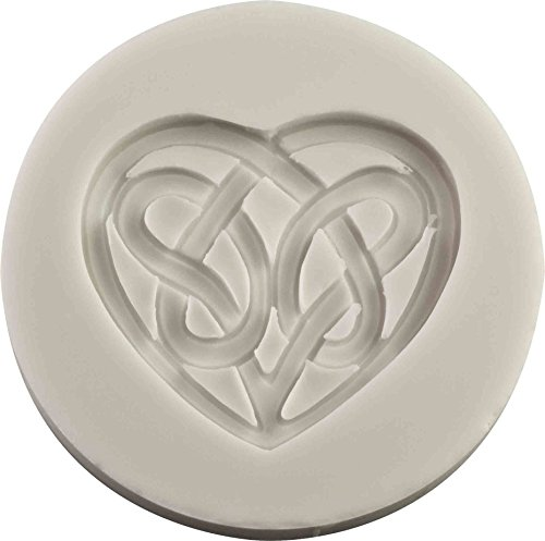 Celtic Love Knot Silicone Mold | Non-stick food grade mold, fondant mold, candy mold, resin mold, fimo mold, clay mold, soapmaking mold