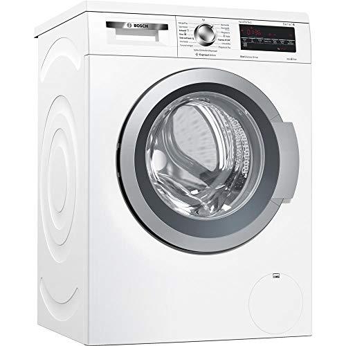 Bosch Serie 6 WUQ284H0 Waschmaschine Freistehend Frontlader Weiß 8 kg 1400 RPM A+++ - Waschmaschinen (Freistehend, Frontlader, Weiß, Drehregler, Berührung, Links, LED)