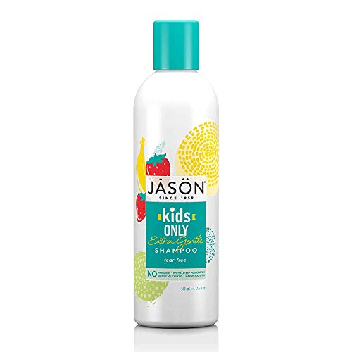 JASON Kids Only! Extra Gentle Shampoo, 17.5 Ounce Bottle