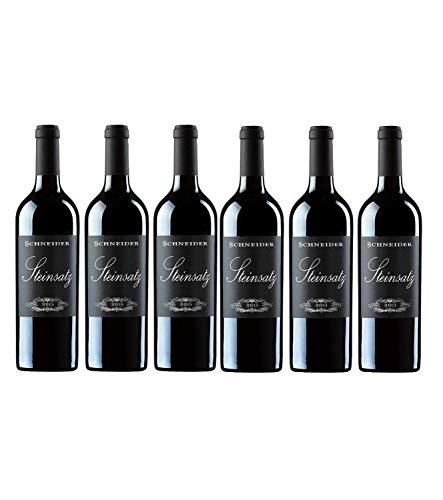 Markus Schneider Steinsatz Rotwein deutscher Wein trocken Pfalz (6 Flaschen)