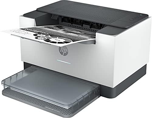 HP LaserJet M209dw 6GW62F, Impresora A4 Monofunción Monocromo, Impresión a Doble Cara Automática, Wi-Fi, Fast Ethernet, USB 2.0, HP Smart App, Panel de control con botones LED, Blanca y Gris