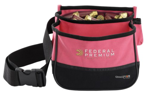 Champion Traps and Targets, Double Shell Pouch Pink (45853)