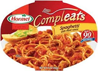 Hormel Spaghetti W/Meat Sauce Compleats Microwave Bowls, 10 oz (Pack of 3)