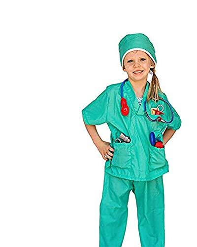 Dress Up America Ensemble de jeu de rôle de jeu de rôle de chirurgien d'enfants