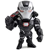 Jada Toys Metals Marvel 4 inch Classic Figure - War Machine (M59) Black