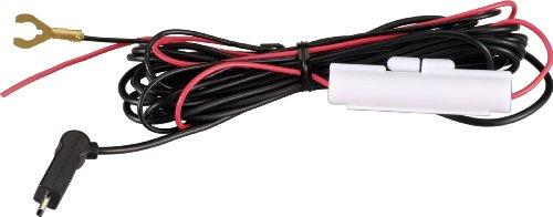 コムテック 直接配線コード ZR-02 レーダー探知機用オプション品 長さ約4.0m ACC線 IG線 直接電源