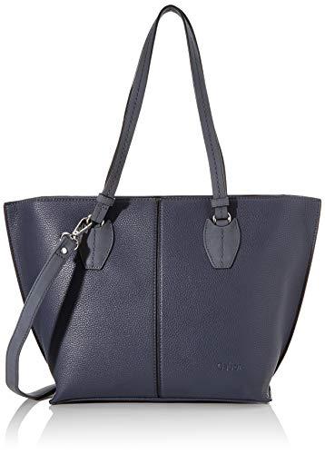 Gabor Shopper Damen, Blau, Riva, 42x13x27 cm, Handtasche groß, Umhängetasche