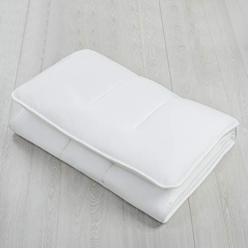 Luxton Home Extra Padding Japanese Shiki Futon Foldable Mattress for Sleep & Travel - Twin-Long