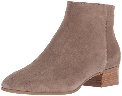 Aquatalia Women's Fuoco Suede Ankle Boot, taupe, 8 M US