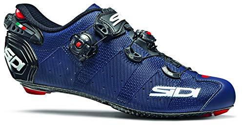 Wire 2 Carbon - Zapatillas de ciclismo de carretera (11,5, azul mate/negro)