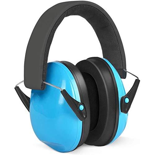Geluiddichte oorkappen Oorverdedigers Kinderen Opvouwbare Verstelbare gehoorbescherming Geluidsonderdrukking Oor Muffs Voor Kinderen Baby Blauw (6 Maanden Tot 14 Jaar Oud)