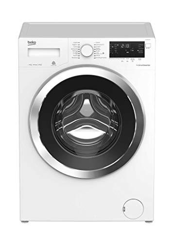 Beko WTY81433CI Lavatrice (Carico frontale 8kg 1400RPM A+++ , LED, Acciaio inossidabile), Bianco